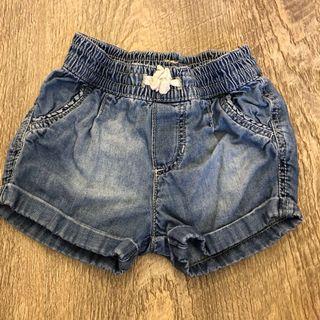Baby denim pants shorts