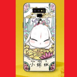💥Samsung Galaxy Note 9 Tempered Glass Casing - 小嫦娥💥