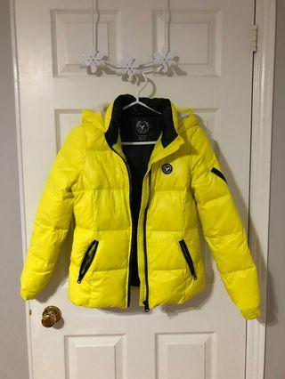 Yellow American Eagle Jacket