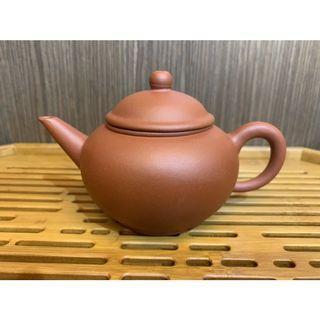 ~壺風茶道~A045《宜興紫砂 早期 癸亥年紫砂水平壺》~古董、茶壺、普洱茶、紫砂壺