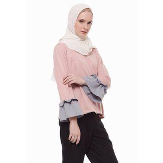 Two tone lucy top