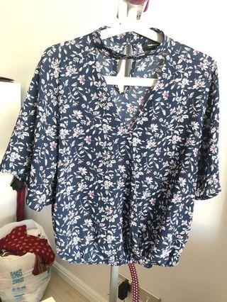 Valley girl brand new top