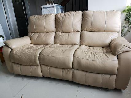 三座位電動梳化 (3 seater recliner sofa)