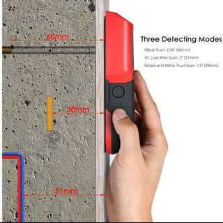 1🔥Stud Finder Wall Detector with Large LCD Digital Wood Studs Center Finder Metal and AC Cable Live Wire Scanner Warning Detection