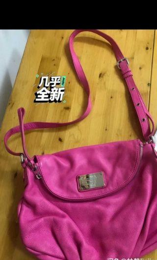 🚚 Like new Authentic marc jacobs pink handbag