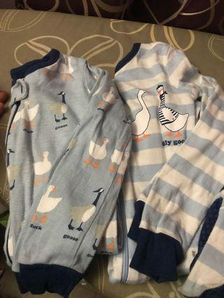 The children's Place sleepsuit set of 2