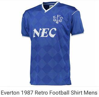Everton 1987 retro