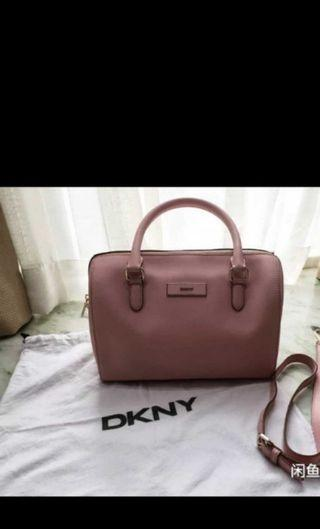 Authentic DKNY PINK BOSTON HANDBAG
