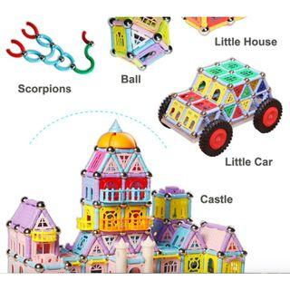 Magnetic Building Toys - Stimulate Child's Creativity