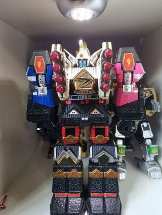 🚚 Power Rangers Shogun (plus falcon zord) and Ninjor Megazord