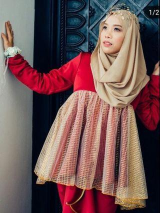 Peplum Dress & Pario Skirt Size S