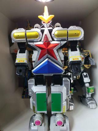 🚚 Power Rangers Super Zeo Megazord
