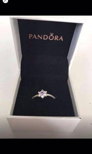 size 54 authentic pandora ring