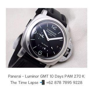 Panerai - Luminor GMT, 10 Days Power Reserve PAM 270 'K'