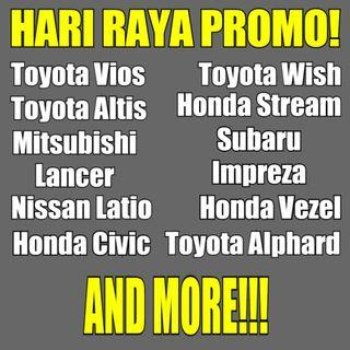 Toyota HARI RAYA PACKAGE PROMO!