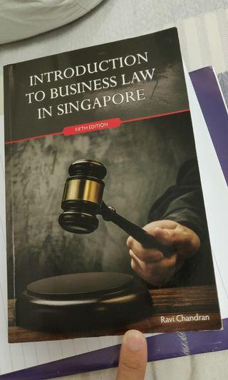 🚚 Introduction to business law Ravi Chandran 5th ed.