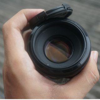 Lensa Canon EF 50mm F/1.8 II Murah