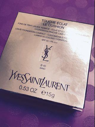 YSL TOUCHE ÉCLAT LE CUSHION SPF50/PA+++  明彩透亮氣墊粉底SPF50/PA+++