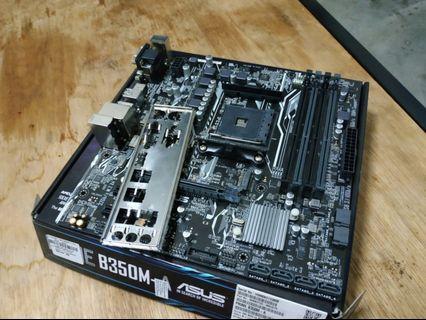 AMD Ryzen mobo Asus prime B350m A motherboard