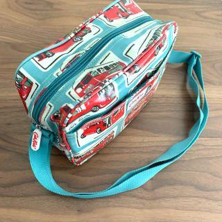 Cath Kids London Bus Pattern Oilcloth Cute Sling Bag @sunwalker