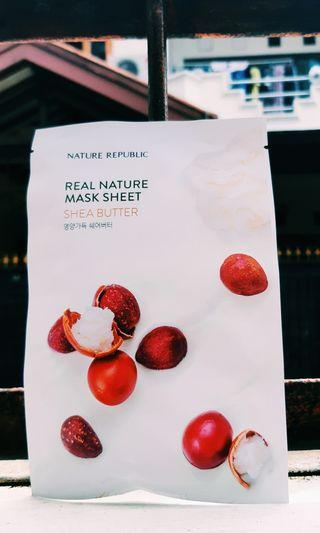 Nature Republic Shea Butter Sheet Mask