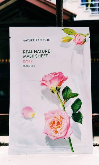Nature Republic Rose Sheet Mask