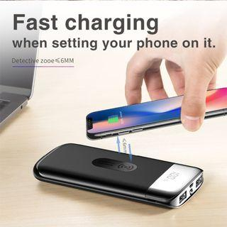 20000mAh Dual OutPut Wireless Fast Charging Power Bank