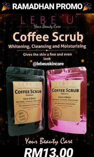 Coffee Scrub RM13