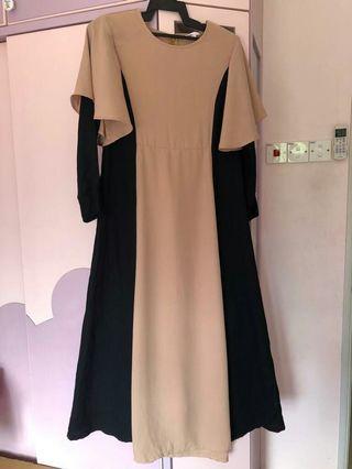 Dress poplook dress labuh
