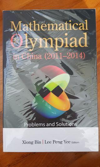 NEW SEALED: 2 x OLYMPIAD Mathematical BOOKS (Set of 2)