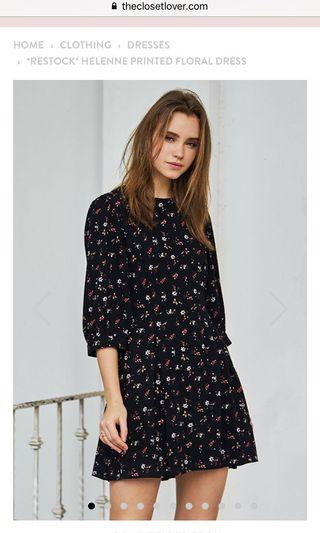 🚚 TCL Helenne Floral Printed Dress