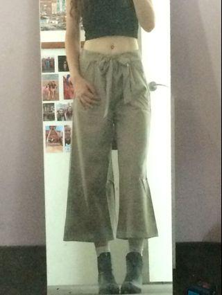 Tailored Culottes in Mocha