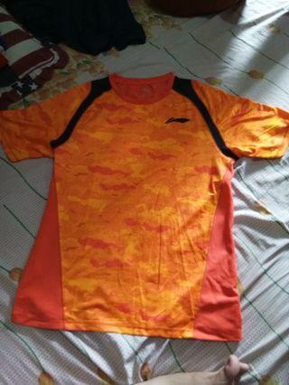 Kaos Badminton Lining Original Ukuran xxl