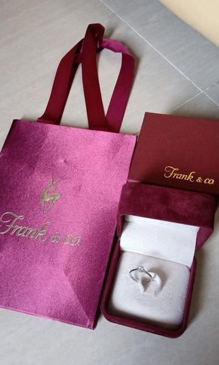 Cincin berlian Frank n Co
