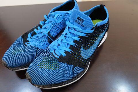 Sepatu Nike flyknit Racer original 100%