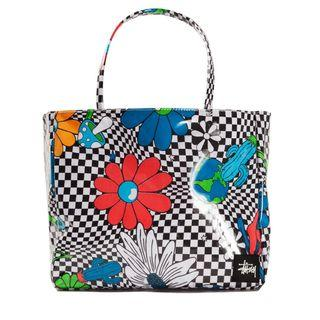 Stussy Womens Checker Vinyl Wrapped Tote - Official Stüssy Singapore