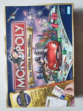 🚚 Electronic Monopoly. Used. Read details please.