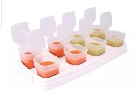 🚚 Baby cubes food storage weaning 40ml×8