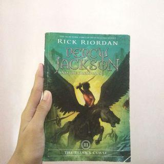 percy jackson and the olympians: the titan's curse (book #3)