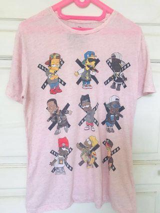 The Simpson Rapper illustration Tshirt