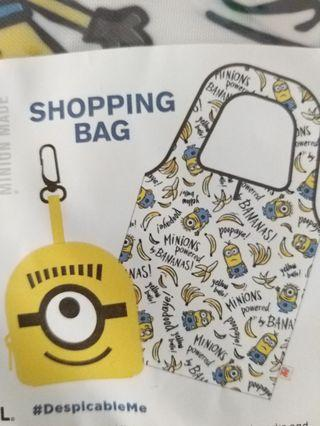 Despicable Me Minions Foldable Shopping Bag 迷你兵團可拆叠環保袋