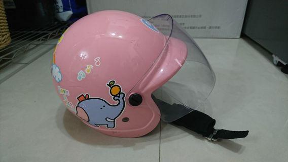 🚚 安全認證  小童安全帽 粉色動物🐝
