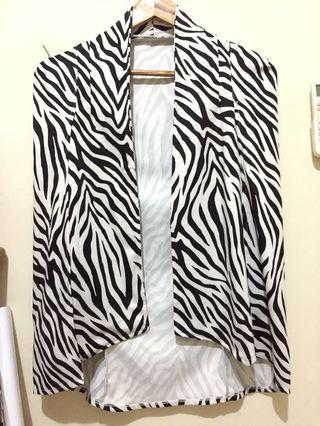 Coat Zebra Pattern