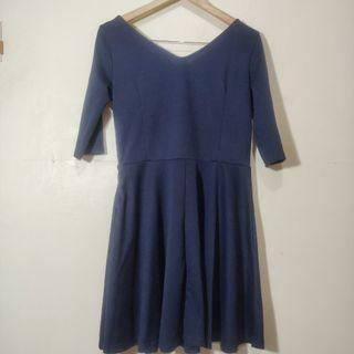 Navy Zalora Dress