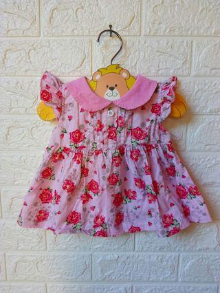 Dress / tunik bayi 1-2thn