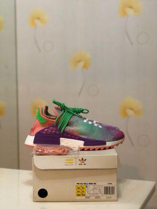 🚚 BN Adidas Human Race NMD Pharrell Williams Holi Festival Chalk Coral US10