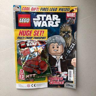 LEGO Star Wars Magazine with MTT minibuild