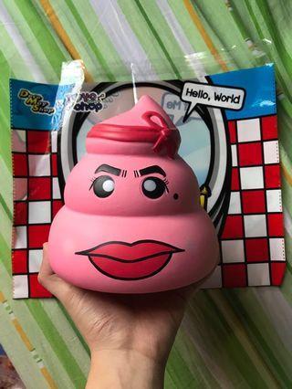 ToyBoxShopxDecoMayShop Mrs.Unchi (pink)