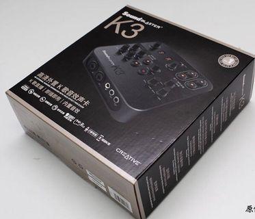 創新K3外置聲卡