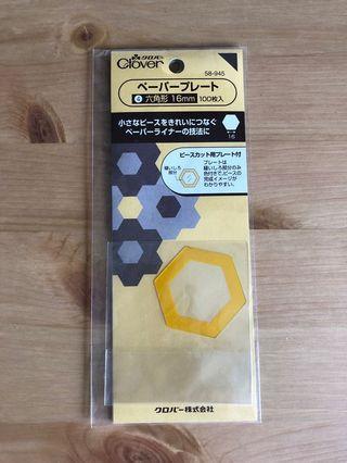 日本clover 六角形16mm紙版
